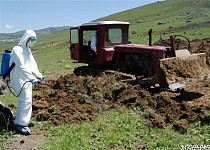 OSCE and Ministry of Emergency States Closely Dealing with Nubarashen Pesticide Graveyard