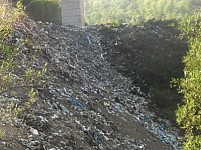 Content of Landfill Site in Dilijan Dumped into Aghstev River (Photos)