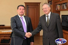 German Ambassador Reiner Morell and Nature Protection Minister Aram Harutyunyan Discusses A Number of Cooperation Issues