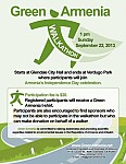 Green Walkathon Dedicated to Armenian Independence Day