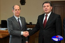 Armenia and Italy would cooperate in environmental sector