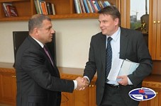 Nature Protection Minister Aramayis Grigoryan Received KfW Bank Regional Director Lars Oermann