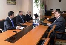 Nature Protection Minister and Ambassadors Discussed Fioletovo Mining Project