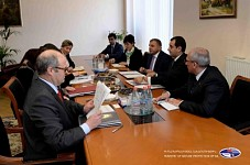Minister Aramayis Grigoryan and German KfW Bank Delegation Discussed Introduction of Centralized Water Resource Management in Armenia