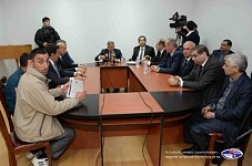 Nature Protection Minister Discussed Environmental Problems in Ararat Region
