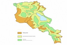 Around 50 % of Armenia in Desertification Process