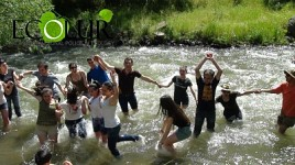 """Jump Armenia"" Environmental Campaign Participants Jumped into Azat River (Photos)"