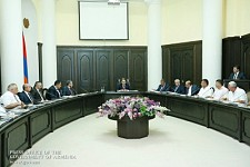 Hovik Abrahamyan to WUC Directors: No Villager Should Say Their Harvest Got Dry Because of Water