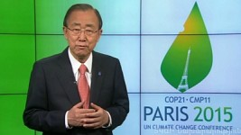 'Our Task Is To Keep Global Temperature Increase at 2 Degrees Celsius': UN Secretary General Ban Ki Moon