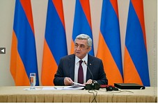 Armenian President Serzh Sargsyan on Amulsar Program