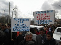 Garni Residents Blocked Garni-Yerevan Highway and Demanding Prime Minister Resignation