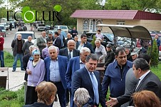 Ex and Current Regional Heqads of Kotayk Arrived in Garni To Discuss Qaghtsrashen Project
