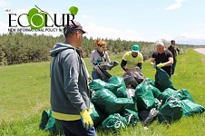 Pan Sevan Garbage Collection Held (Photos)