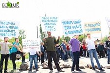 Garni Residents Ready to Block Garni-Yerevan Drinking Water Pipeline, if Government Doesn't Stop Qaghtsrashen Project