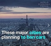 World Economic Forum Declares About Refusing from Cars in Largest World Capitals