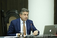 Armenian PM Karen Karapetyan: Tree Felling Should be Legalized Logically