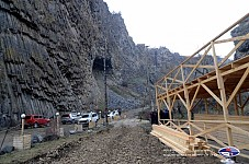Clarification on Construction in Area Adjacent to 'Basalt Organ' and 'Nameless Cave' Column-Like Basalt Monuments of Nature