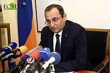 Acting Nature Protection Minister Artsvik Minasyan Resigned