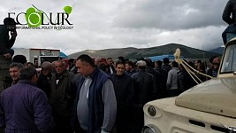 Protest Demonstration in Aparan: Residents Blocked Aparan-Vanadzor Highway