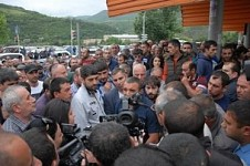 Tense Situation in Kapan: Kapan Ore Processing Combine Workers Have Been Striking for Over Six Days