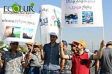Ignoring Protest Demonstration and Initiated Criminal Case Yeghvard Community Municipality Issued Positive Opinion to Oil Processing Submitted by ArmOil