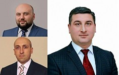 Government Appointed New Regional Heads of Gegharkounik, Vayots Dzor and Lori Regions