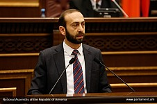 Ararat Mirzoyan Elected President of National Assembly of Republic of Armenia