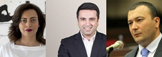 Lena Nazaryan, Alen Simonyan and Vahe Enfiajyan Elected as Vice Speakers of National Assembly