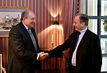 President Armen Sarkissian: Alternative energy is a promising area for our country