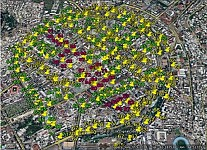 Complete Map of Yerevan City Noise Planned to Develop