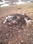 Plastic Garbage Reached Armaghan Mount