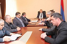 Matters Relating to Illegal Tree Felling and Illegal Fishing Discussed at Gegharkounik Regional Prosecutor's Office