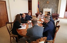 RA Investigative Committee Discussed Term and Actions of International Expert Assessment of Amulsar Project with Elard Company
