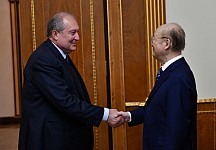 President Armen Sarkissian Received IAEA Delegation