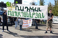 Jermuk Residents Fighting for Their Rights: Rally in Jermuk