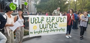 Participants of EnvironParticipants of Environmental Mobilization Day Joined in Freedom Square (Photos)mental Mobilization Day Joined in Freedom Square (Photos)