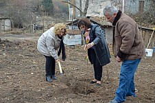 November in Tavush with Tree Planting