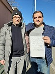 Alexander Qananyan and Mher Poghosyan Boycotting HPP Construction in Artsakh, Stopped Their Hunger Strike