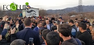 Nikol Pashinyan Near Second Amulsar Blockade Post: LIVE