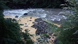 Alarm Signal: Debed River Tributary Again Got Yellow-Brownish Colour