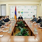 Armenian PM Got Acquainted with Environment Ministry Projects
