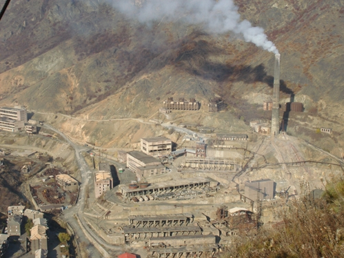 NEW ECOLOGIC THREAT HANGS OVER ALAVERDI