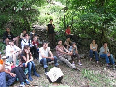 Teghout Eco-educational Camp Participants About Mining (Photos)