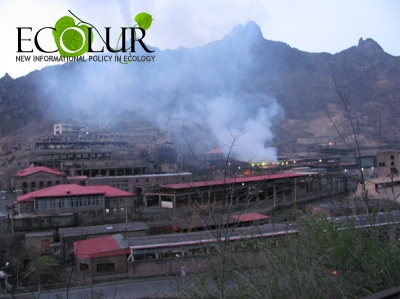 Armenian Towns Which Exceeded Dust and Sulphur Dioxide Annual Maximum Concentration Permission in Atmospheric Air for 2014