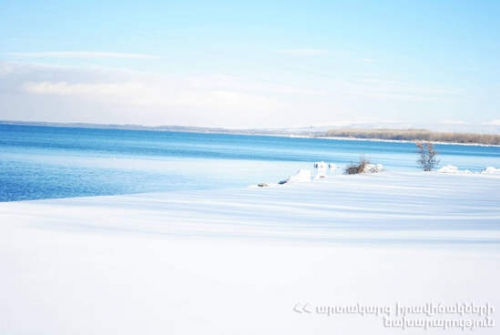 RA MES - Lake Sevan Under Ice: Lake Thermal Regime Essentially Changed