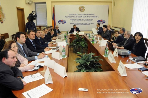 Yerevan Botanical Garden, Amulsar Mining Issues, Need for Scientific Research Discussed at RA Nature Protection Ministry
