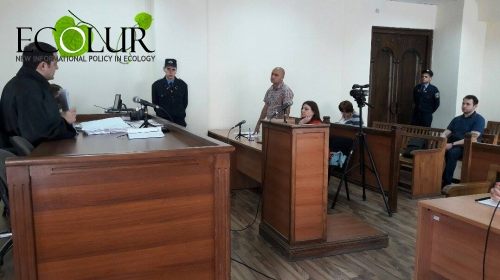 RA Nature Protection Ministry Not a Respondent on Amulsar Case Any Longer