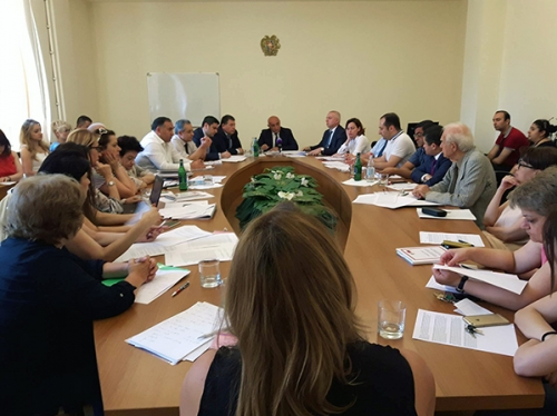 RA National Assembly Standing Committee on Territorial Administration, Local Governance, Agriculture and Nature Protection Approved Bill on Additional Water Intake of 100 Million Cum out of Lake Sevan with Majority of Votes