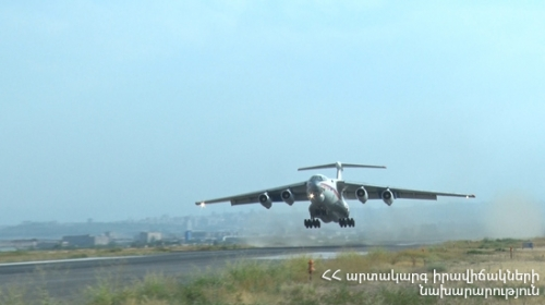 Russian 'IL-76' Aircraft To Have Its Third Flight