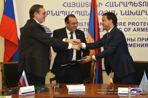 Russia Providing 1 Million USD to Combat Forest Fires in Armenia